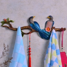 Wall decoration hook  clothes and hats row hook   creative wall hanging wall bedroom clothing store carefully carved gifts  envi