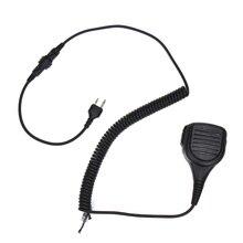 Walkie Talkie Speaker Mic Portable Handheld 2-pin Shoulder Remote PTT For Midland Two Way Radio GXT550/650 GXT1000 GXT1000VP4 hm 131 speaker mic for handheld radio t7 w32