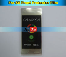 For Samsung S6 Front Protctor Film Front screen Protector Film for Samsung Cracked Lcd Refurbishment Free shipping