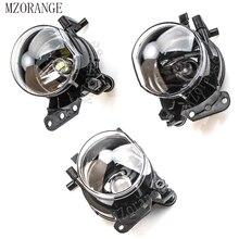 MZORANGE 2pcs Halogen/LED Bulb No Bulb Front Fog Light Fog Lamp For BMW E60 E90 E63 E46 323i 325i 525i Housing Lens Clear цена