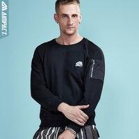 Aimpact 2017 New Autumn Causal Men Sweatshirts Cotton Hoodies Men Pullover Long Sleeve Brand Clothing Hip