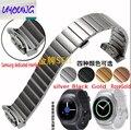 Uyoung samsung gear s2 r720 sport watch com alça de aço inoxidável inteligente