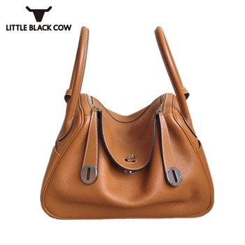 New Ladies Genuine Leather Tote Messenger Bags Handbag Fashion Shoulder Crossbody Bag Women Top Quality Pillow Bolsos Mujer 1