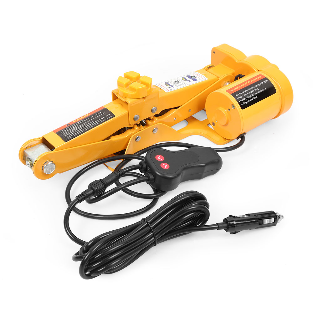 Clerance 12V Car Lift Tire Repair Tool Auto Electric Hydraulic Jack With One Key Operation Garage Tools