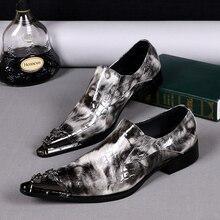 Neue Britische Art Echtes Leder Männer Schuhe Partei und Hochzeit Männer Kleid Schuhe Spitz Business Leder Schuhe männer wohnungen