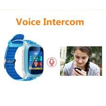 เด็กsmart watchติดตามจีพีเอสds18สำหรับเด็ก2016 wifi sosต่อต้านหายไปค้นหาสถานที่S Mart W AtchสำหรับIOS A Ndroid PK Q50 Q60 Q90