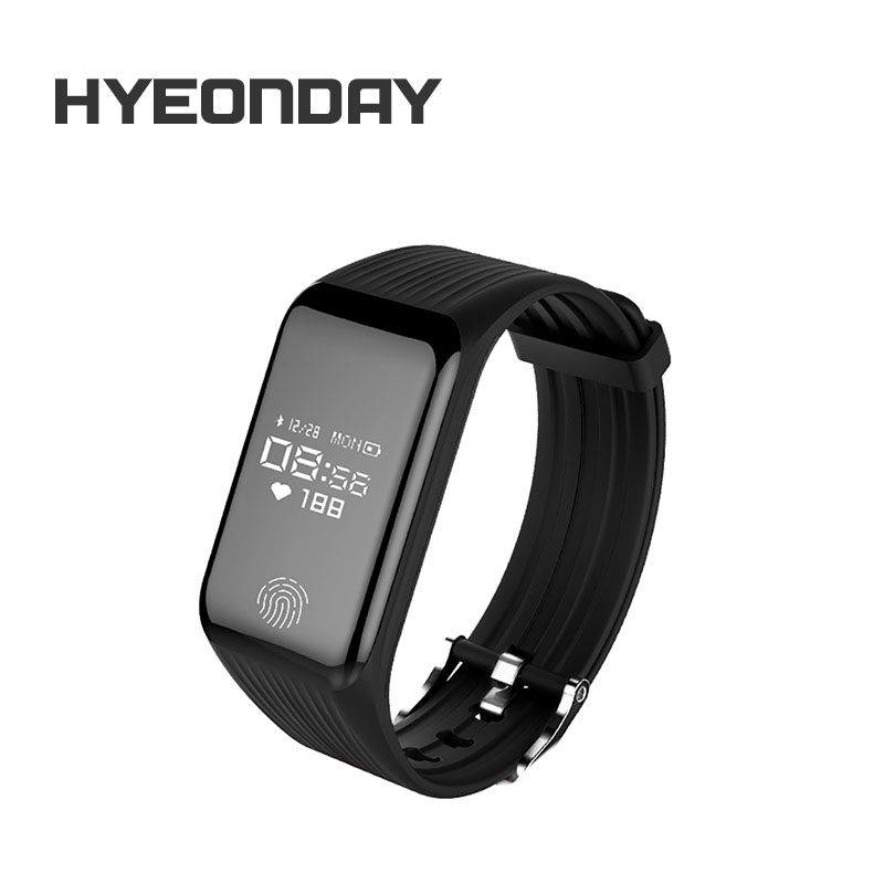 HYEONDAY TLWB3 r Wristband Heart Rate Monitor font b Smart b font Band Oxygen monitoring OLED