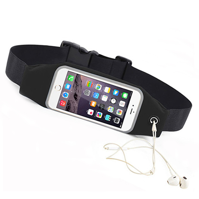 best service 16893 e0fa1 US $3.95 21% OFF|For Samsung galaxy s7 s6 edge Running Belt Waist Pocket  Waterproof Sport Cover Jog Workout Case For Samsung s7 Cell Phone Cover-in  ...