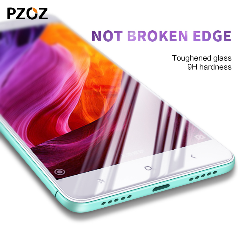 Pzoz xiaomi redmi note 4x glass full cover prime screen protector xiaomi redmi note 4 pro tempered xiomi redmi note 4 glass 2.5D