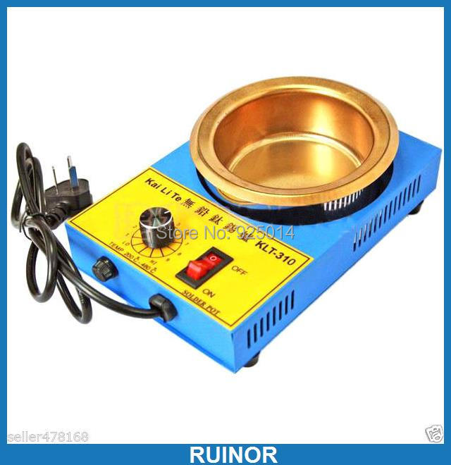 цена на AC 220V 300W 100MM Solder Pot 1200g tin melting Furnace Titanium FREE SOLDERING