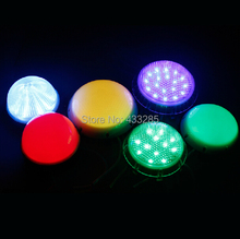 Colorful DC24v led point light source color changing outdoor waterproof 100mm diameter led full color module led pixel light