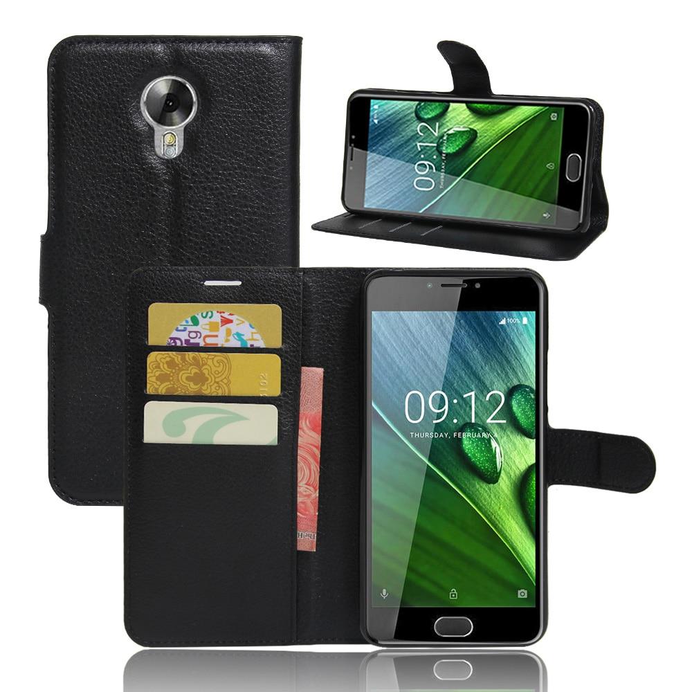 YINGHUI For Acer Liquid Z6 plus Case Wallet PU Leather Flip Case For Acer Liquid Z6 plus 5.5 Phone Case Back Cover Funda Bags