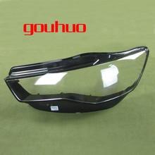 цена на Headlight Transparent Cover Lampshade Headlamp Shell Lens Headlight Glass for Audi A6L C7 16-17 2PCS