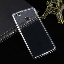 Huawei P9 Lite Etui Case Silicone Protector Transparent Clear Soft White Huawei P9 Case p9 Plus Cover Coque Fundas Accessories все цены