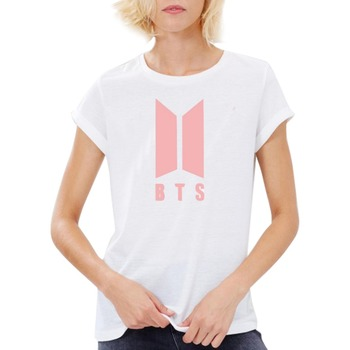 Short Sleeve Cotton Rock K-pop Clothes T Shirt Tops Tees Camisetas Mujer