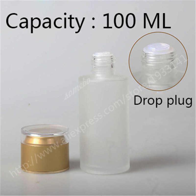 20ml 30ml 40ml 60ml 80ml 100ml sprey şişeleri losyon pompası cam şişe basınç krem kavanozu buzlu cam şişeler