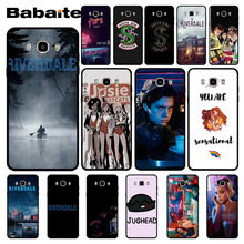 Babaite Riverdale TV shows Black TPU Soft Rubber Phone Cover for samsung j7 j2pro note9 note8 j6prime case Cover