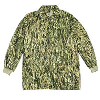 Military Bionic Camouflage Camo Jacket Shirt Tops Outdoor Hunting Fishing Sports Clothing