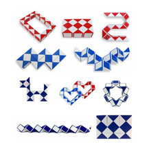 2017 Cool Snake Magic Variety Popular Twist Kids Game Transformable Gift Puzzle Good abrasion resistance and texture toys(China)