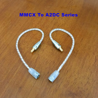 MMCX Female To 2Pin 0.78mm IM04 IE80 A2DC QDC MMCX Male Earphone Headset Cable Adapter Cable Earphone Accessories for Shure IE80
