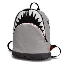 Детская 3D модель Акула школьные сумки детские mochilas детская школьная сумка для детского сада для мальчиков и девочек рюкзак детский холст рюкзак
