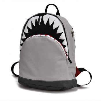 Kids 3D Model Shark School Bags Baby mochilas Child\'s School Bag for Kindergarten Boys and Girls Bagpack Child Canvas Backpack - DISCOUNT ITEM  42 OFF Luggage & Bags