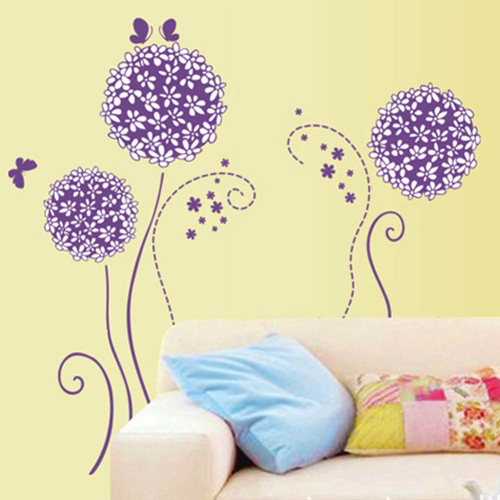 Delighted Purple Butterfly Wall Decor Photos - The Wall Art ...
