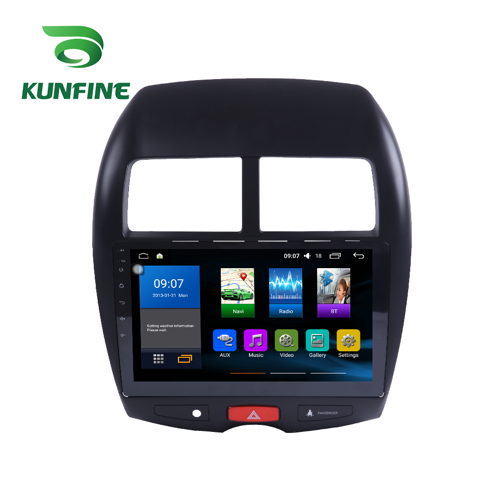 Octa Core 1024*600 Android 7.1 Car DVD GPS Navigation Player Deckless Car Stereo for Mitsubishi ASX 2013-2017 Headunit Radio sony жк телевизор sony kd 55xf7596 br2