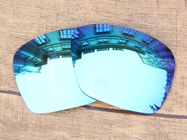 Gelo Azul Espelho óculos Polarizados Lentes de Reposição Para Autora  Squared Óculos De Sol Quadro 100 f1686652fb