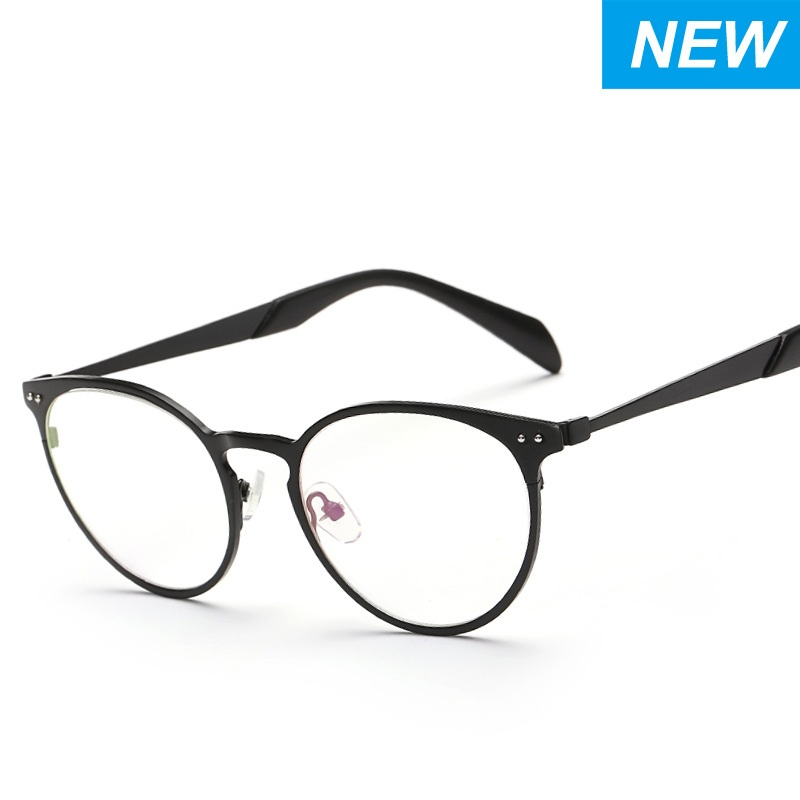 New Eye Glasses Frame Retro Korean Style Alloy Material ...
