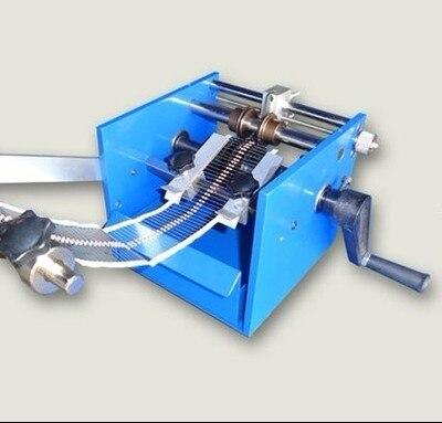 Vertical fonctionner à la Main U type Résistance Axiale Plomb Coupe de Courbure Forme Faisant La Machine