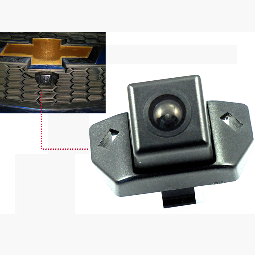 600L CCD Night Vision Car Logo Grid Camera Front View Camera For Chevrolet Malibu 2012 2013 Parking Assistance