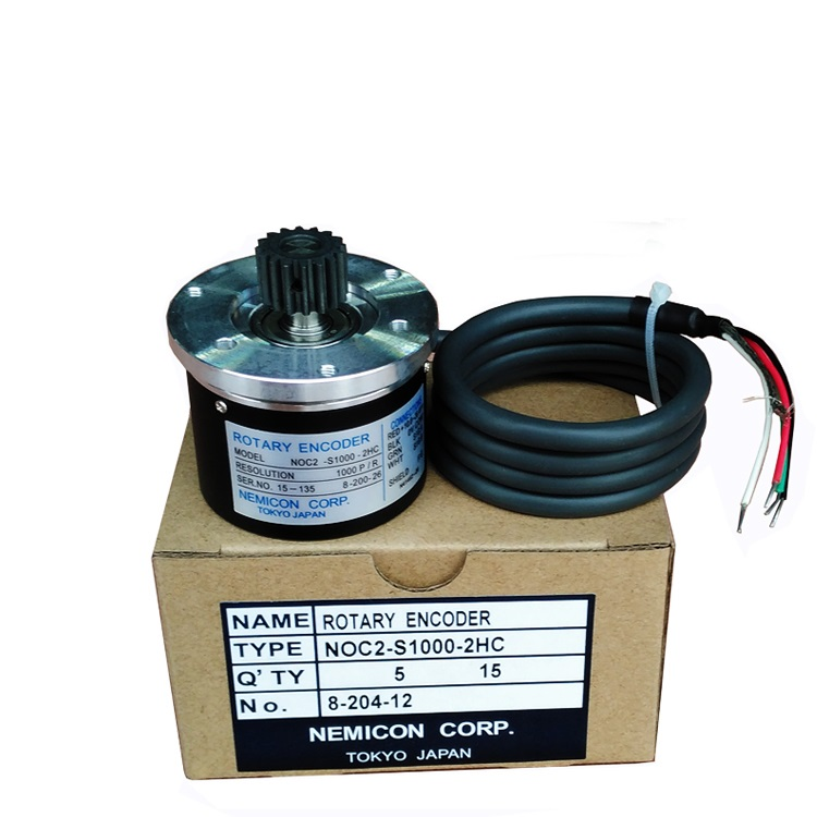Chen De injection molding machine Zhenxiong decoder NOC2-S1000-2HC photoelectric sensors encoder yg 25 leveling photoelectric sensors