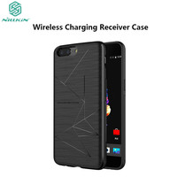 Oneplus 5 QI Wireless Charging Receiver Case NILLKIN Magic Case For One Plus 5 A5000 Car