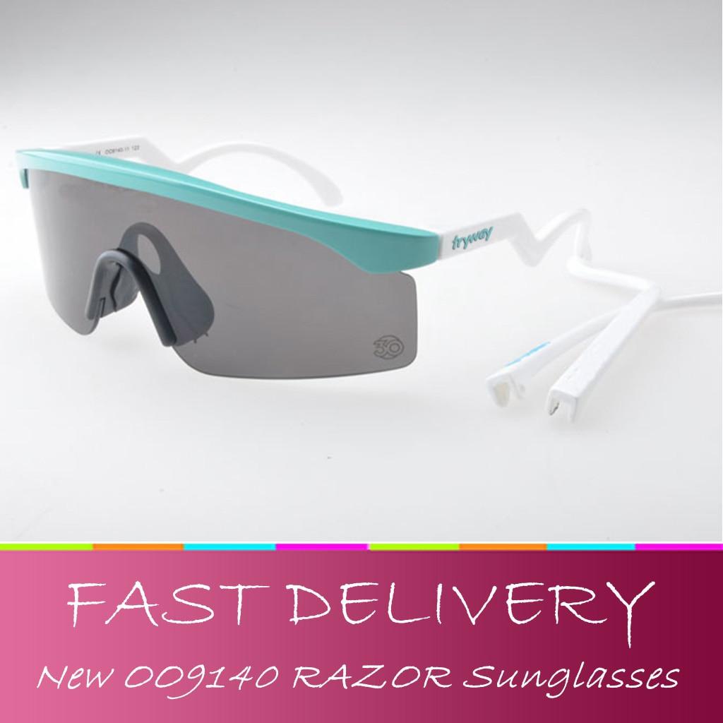 Prix pour NOUVEAU Rasoir lunettes de soleil Patrimoine Édition Iridium Lentille lames oculos del sol hommes gafas ciclismo course en plein air lunettes avec la boîte