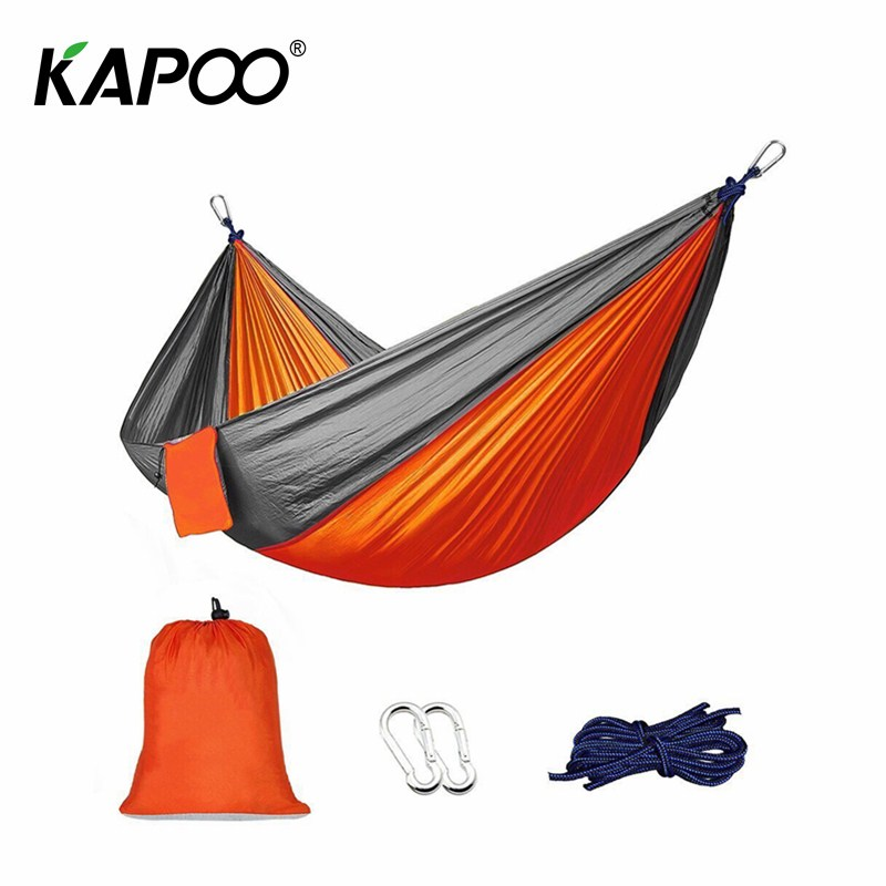 Ultralight Hammock Outdoor Leisure Double Hammock Outdoor Furniture Camping Chair Outdoor Garden Chair Camping Hammock Gift outdoor rattan hammock stand chair with cushions