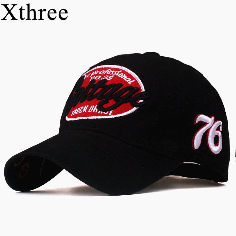 Xthree unisex spring casual baseball cap fashion snapback hats casquette bone cotton hat for men women apparel wholsale xthree summer baseball cap snapback hats casquette embroidery letter cap bone girl hats for women men cap