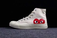 2017 CONVERSE ALL STAR CDG PLAY X 1970s Unisex Men And Women Canvas Shoes Skateboarding Shoes