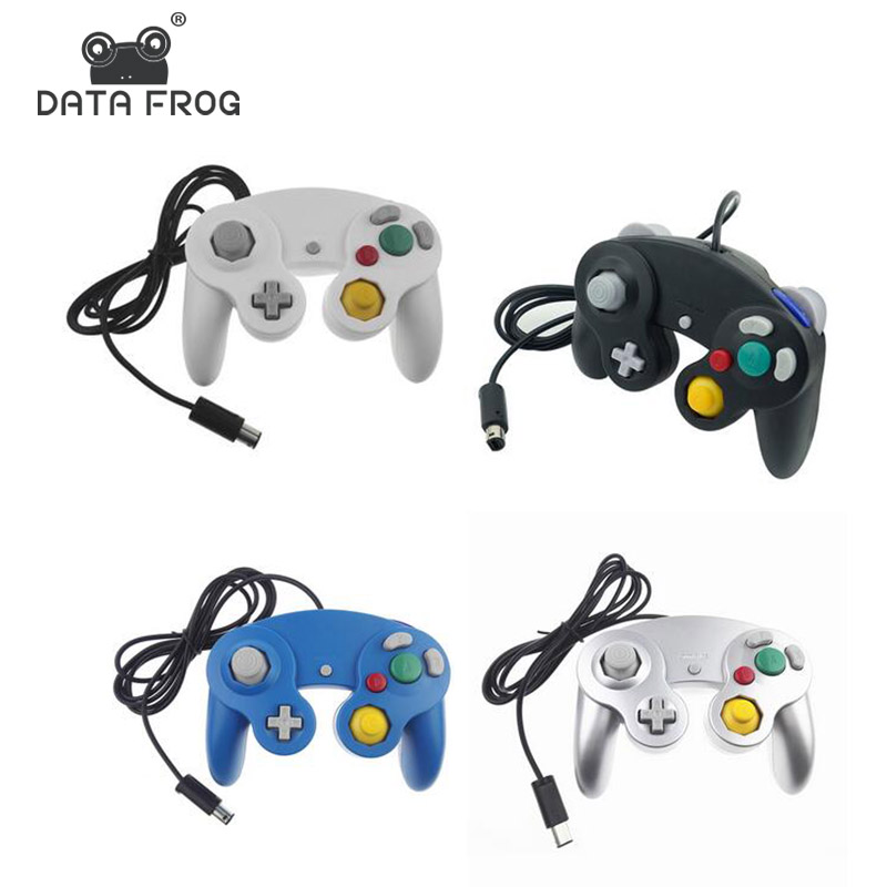 DATA FROG Wired Joypad Controller For Gamecube Controller Handheld Joystick For Computer For Nintend For Wii Vibration GameingDATA FROG Wired Joypad Controller For Gamecube Controller Handheld Joystick For Computer For Nintend For Wii Vibration Gameing