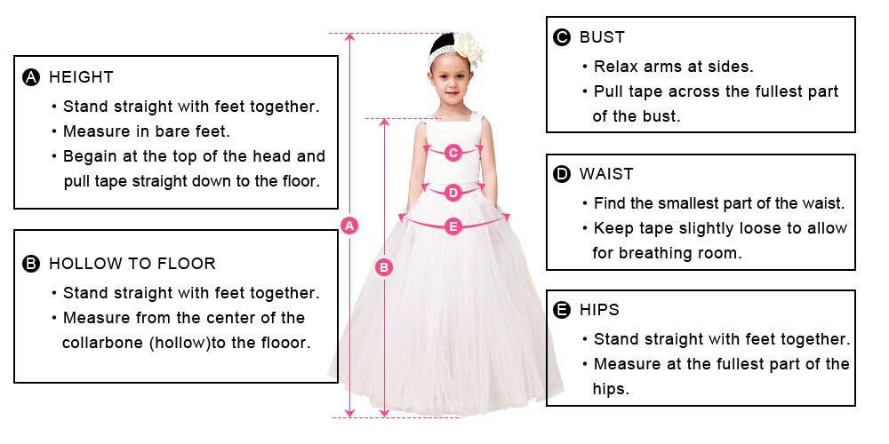 White Flower Girl Dress Wedding Bridesmaid Birthday Party Formal ...