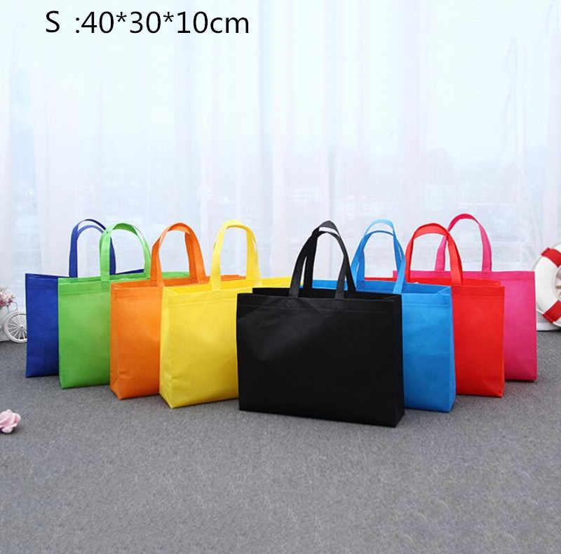 Etya Wanita Pria Besar Kecil Tas Belanja Dapat Digunakan Kembali Wanita Foldable Eco Shopping Tas Pembelanja Tote Perjalanan Penyimpanan Tas Belanjaan