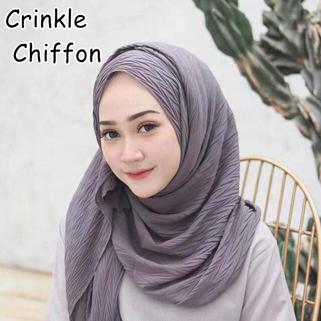 K3 High quality crinkle bubble chiffon hijab   wrap   shawls   scarf     scarves     wrap   headband 180*85cm 50pcs/lot