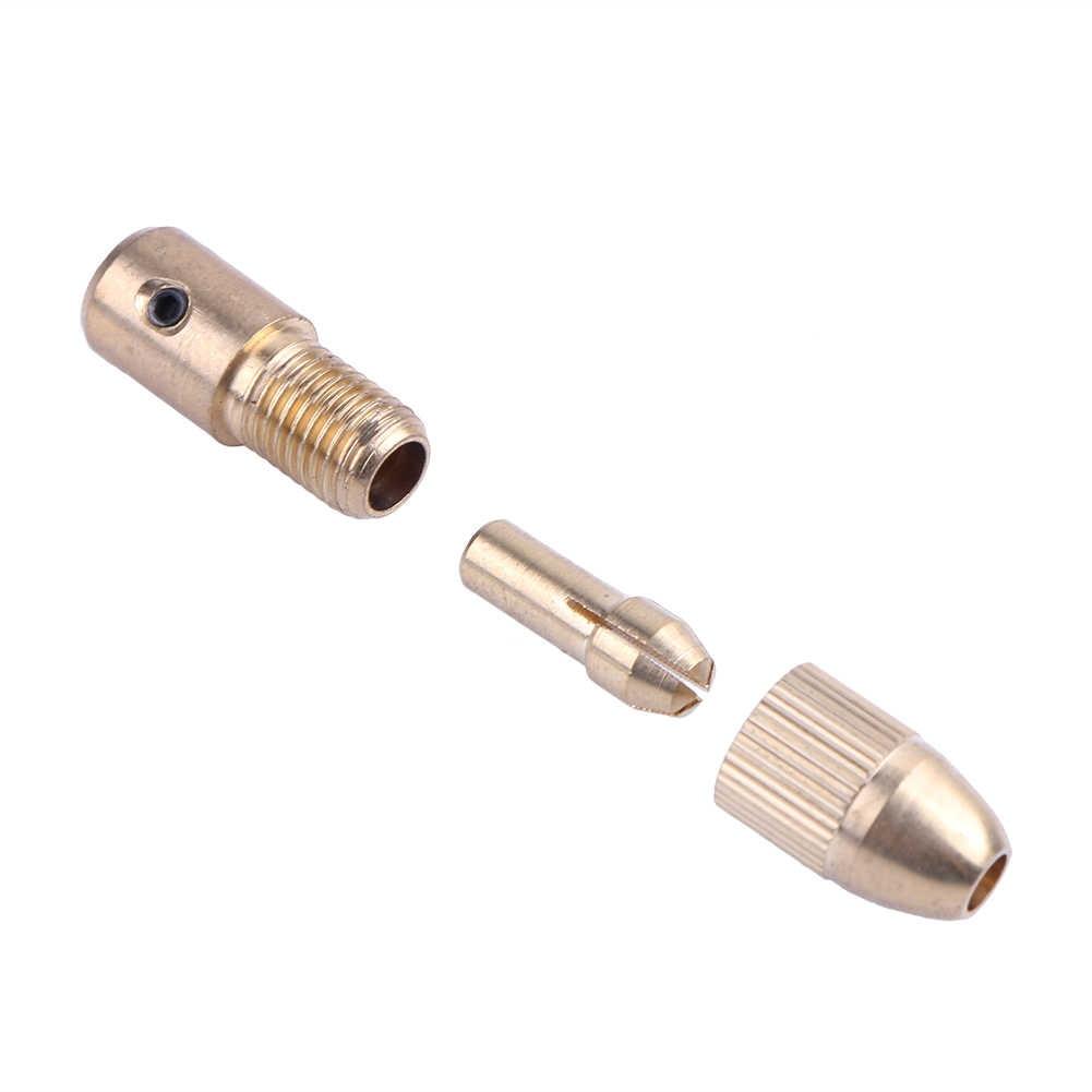 2,0 мм латунный Мини вал электродвигателя Зажимной патрон для 0,8 мм-1,5 мм сверлильный микроразборка