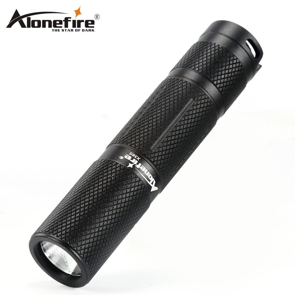 AloneFire X360 Tragbare Wasserdichte CREE XP-G2 FÜHRTE Stift licht Mini 5 Modi Outdoor Taktische Taschenlampe AA Batterie Für Camping Nightwalk
