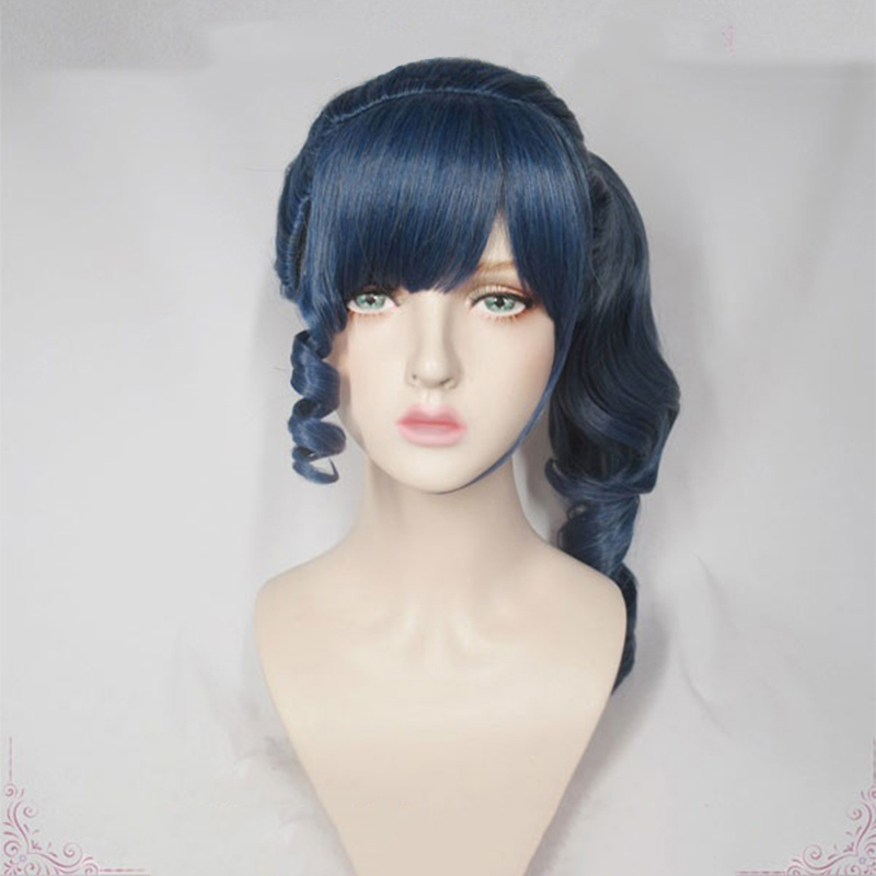 Game Identity V Cosplay Wigs Coordinator Martha Behamfil Cosplay Wig Heat Resistant Synthetic Wig Halloween Carnival Party