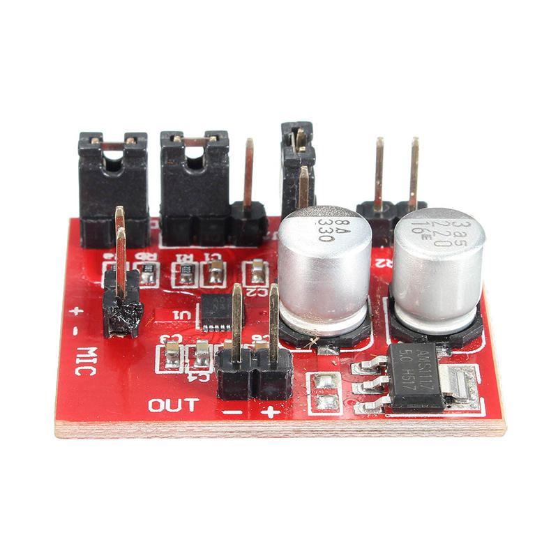 MAX9814 Electret Microphone Amplifier Module AGC Function DC 3.6-12V For Arduino Acoustic Components Board