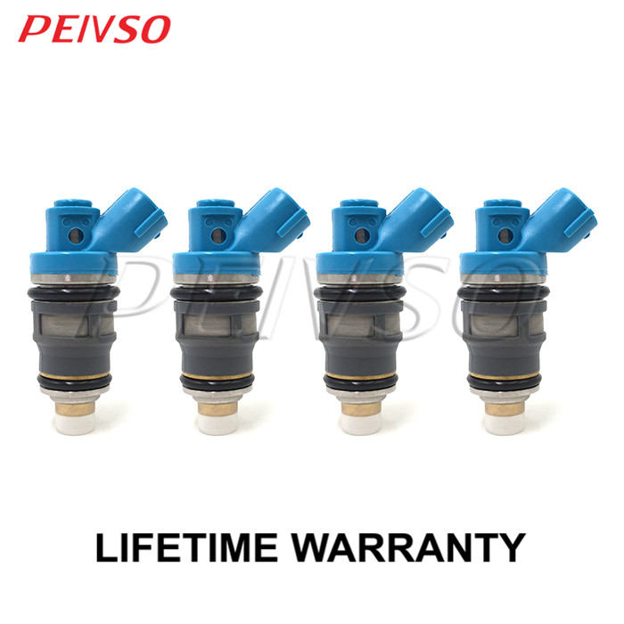 4x 23250 75070 23209 79115 fuel injector for TOYOTA HILUX 2 0L 1RZE T U V