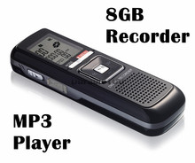 Digital sound recorder PRO 8GB 650Hr USB Digital Audio Voice Telephone Recorder Dictaphone MP3 Player Free Shpping