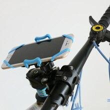 Bike Phone Holder For iPhone Samsung Universal Mobile Cell Handlebar Clip Stand GPS Mount Bracket Rack