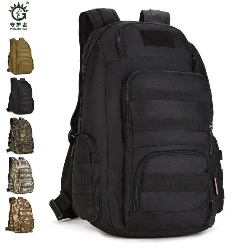 Hot Sale Men Women Outdoor Military Tactical Backpack Camping Hiking Bag Trekking Sport Rucksacks 40L Backpacks